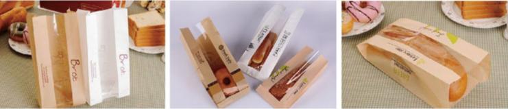 Bolsas de papel de comida